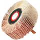 Perie Lamelar Radiala cu Tija / D[mm]: 60; H[mm]: 20; Di[mm]: 6