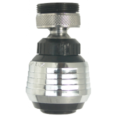 Dispersor Mobil Dubla Jonctiune din ABS Negru / Cod: 2485/S