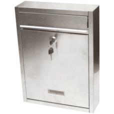 Cutie Postala Inox 260x350x80 / L[mm]: 260; H[mm]: 350; B[mm]: 80