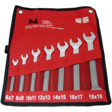 Chei Fixe Satin (7 buc/set) / S[mm]: (6x7)-(18x19)