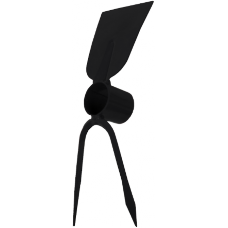 Sapaliga Furca cu 2 Dinti Sudata / B[mm]: 80