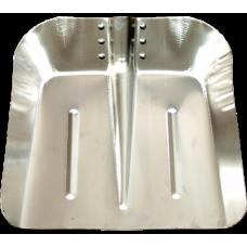 Lopata Patrata pt Zapada din Aluminiu / L[mm]: 350; B[mm]: 340; G[mm]: 1.5