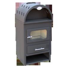 Semineu Emailat BuildXell 1 K EKO Black / P[kW]: 8