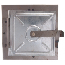 Usa pt Horn din Tabla Neagra / H[mm]: 150; B[mm]: 150