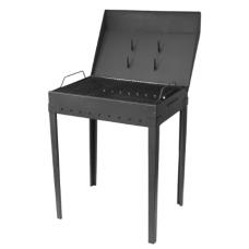 Gratar pt Gradina din Tabla Neagra / L[mm]: 560; B[mm]: 410